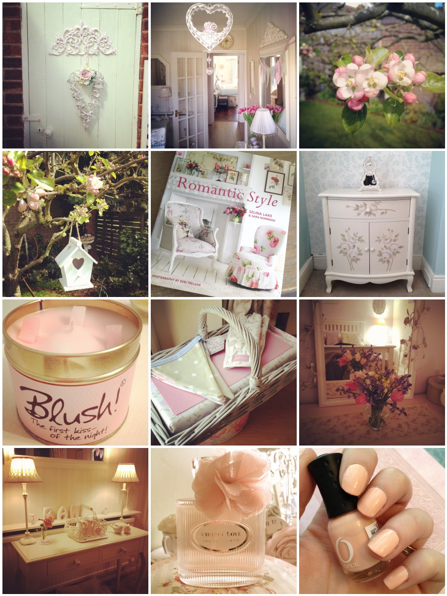 Life in Instagram - Shabby Chic Interiors Edition - Amy Antoinette